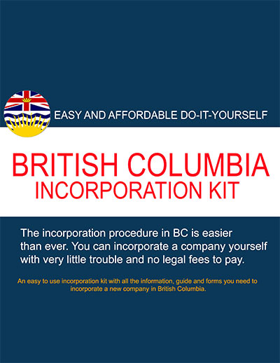British columbia self incorporation kit company formations canada easy and affordable do it yourself british columbia incorporation kit solutioingenieria Image collections